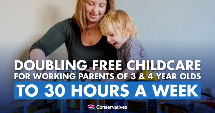 Doubling Free Childcare