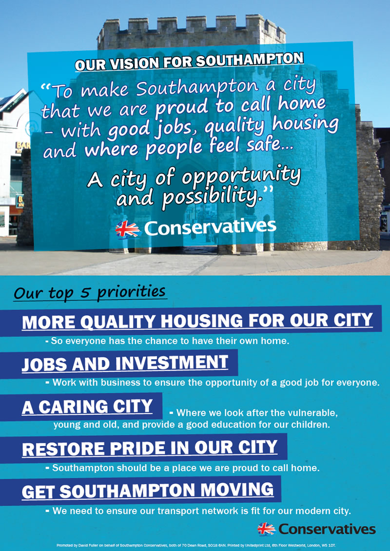 Southampton Conservatives 2016 Vision
