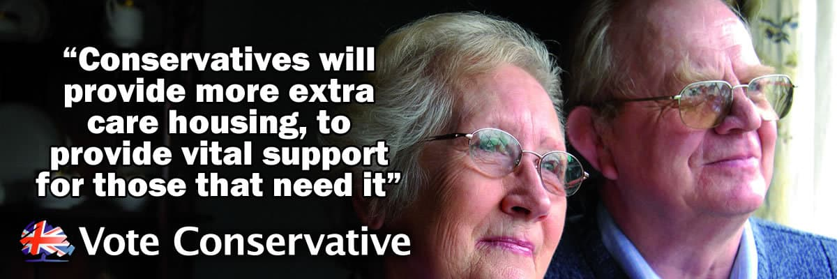 Conservatives will provide more Extra Care Housing