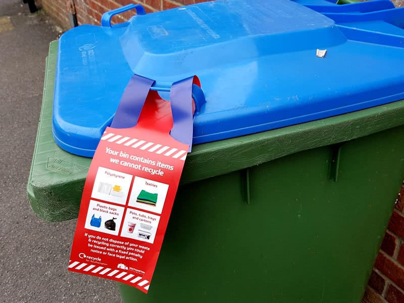 Increasing what can be recycled kerbside in Southampton