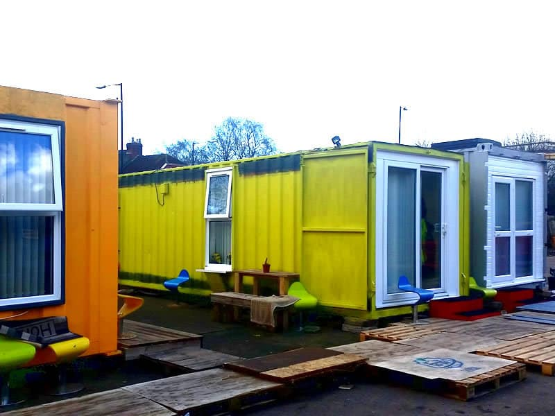 Shipping Container Home Bristol