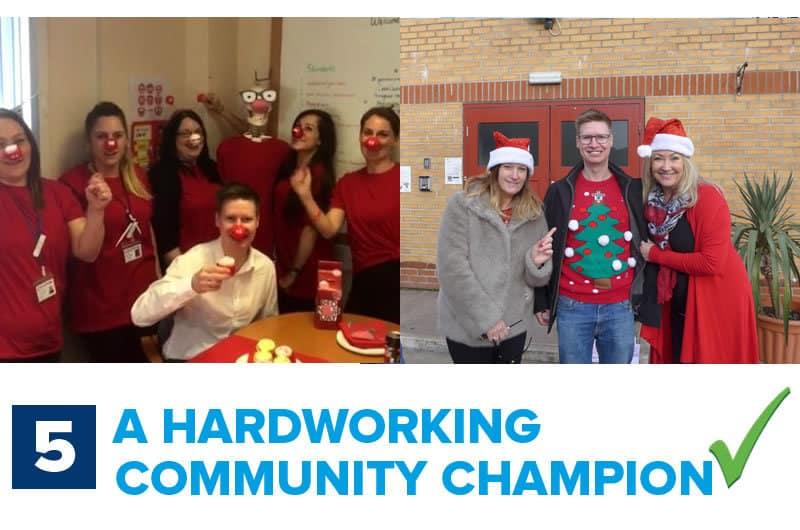 Steve is a hardworking community champion