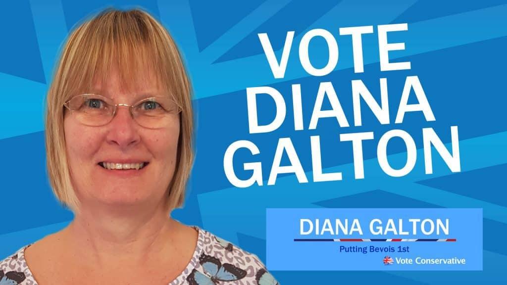 Vote Diana Galton