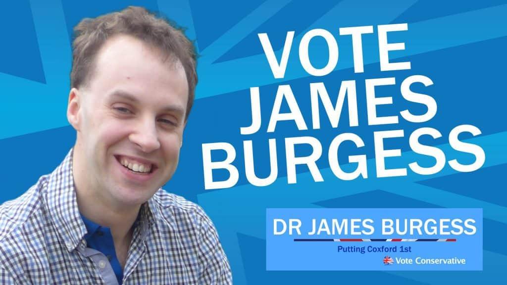Vote James Burgess