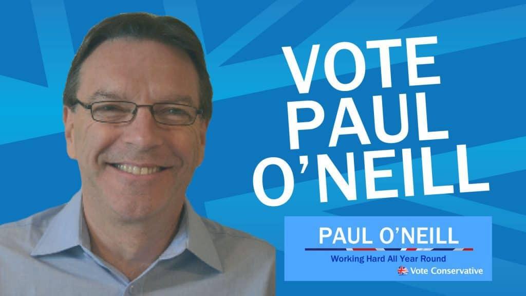 Vote Paul O'Neill