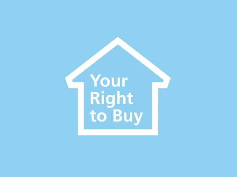 Your right to buy logo