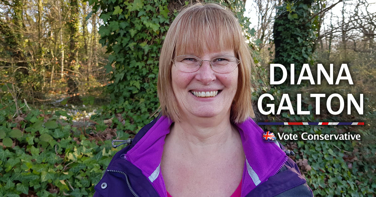 Diana Galton - Coxford Ward Candidate 14th March 2019