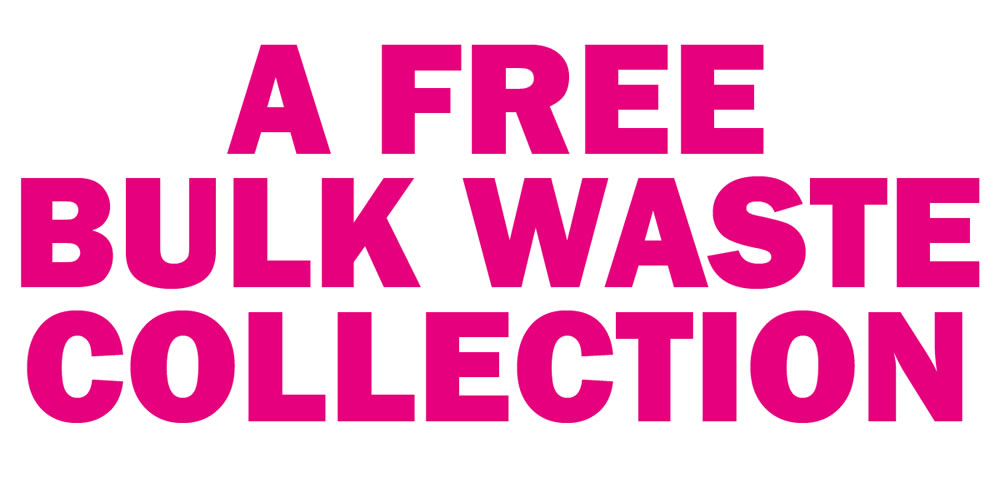 A Free Bulk Waste Collection